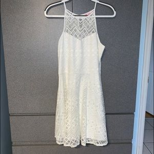 All White Lace Dress